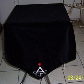 Cross and Triangle Corners Altar Cloth