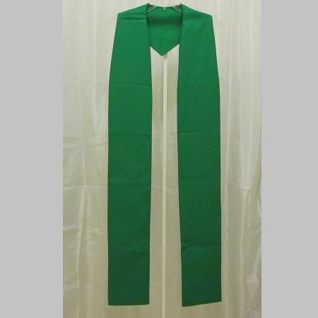 Basic Cotton Stole – green