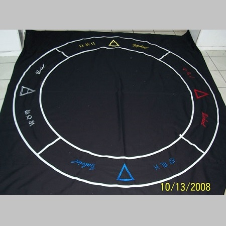 Magic Circle Floorcloth 1