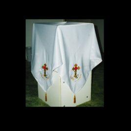 Rosey Cross Cloth