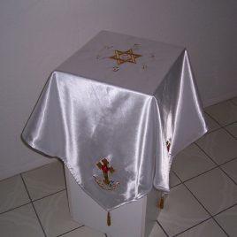 Rosey Cross Cloth with Solar Hexagram