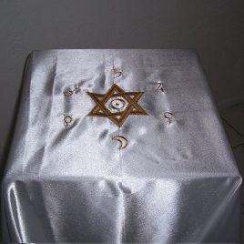 Solar Hexagram Cloth
