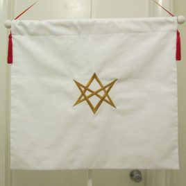 Thelemic Banners of East and West (set of 2 Banners)
