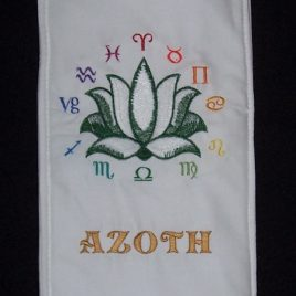 Lotus Wand Bag