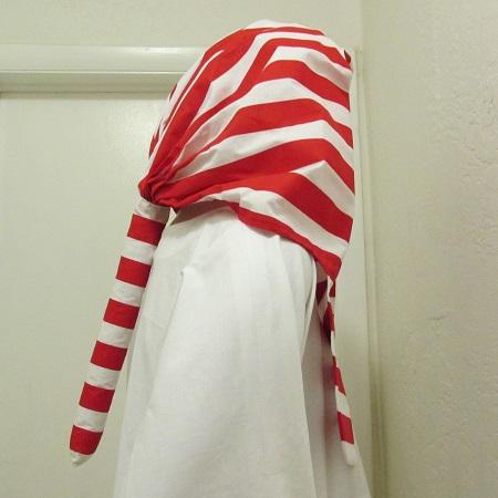 red and white nemyss