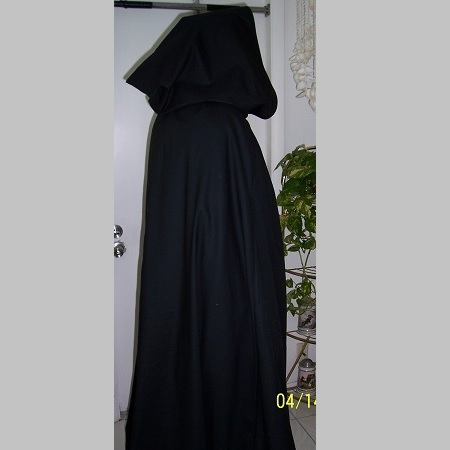 Hooded Cape 1