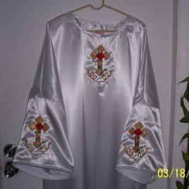 Rosey Cross Robe