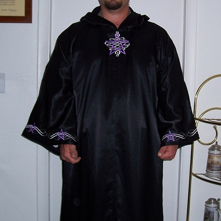 Ultimate Pentagram Robe 1